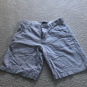 Men's linen shorts. Barely worn.